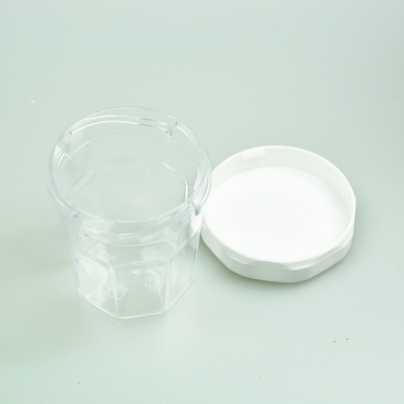 mini pot confiture transparent x20. Black Bedroom Furniture Sets. Home Design Ideas