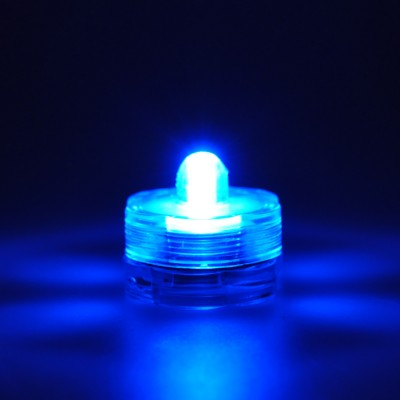 Led submersible bleu