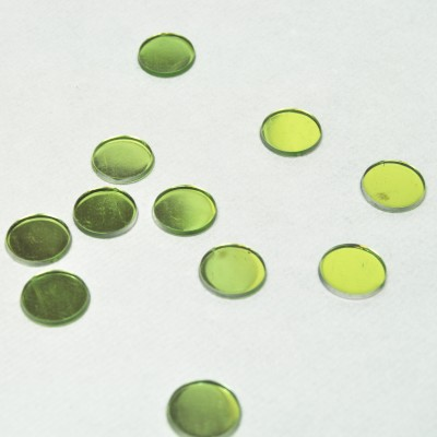 Pastilles miroir vert anis