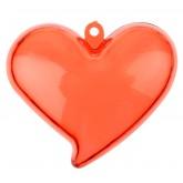 Cœurs glamour (x4) rouge