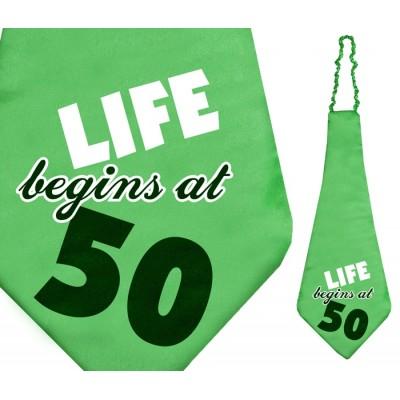 Cravate humoristique âge 50