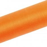 Large bande d'organza orange