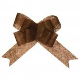 Noeuds en intissé automatique chocolat (x5)