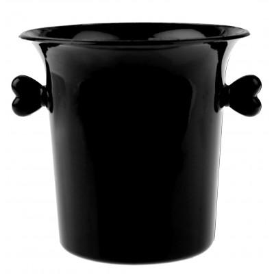 Mini-seaux à glace de couleur (x6) noir