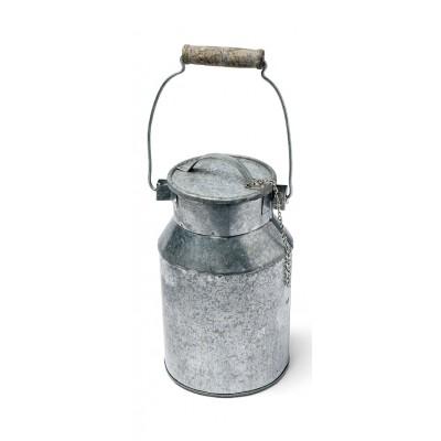 Grand pot à lait en zinc Hauteur 16cm
