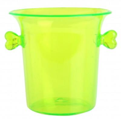 Mini-seaux à glace de couleur (x6) vert fluo
