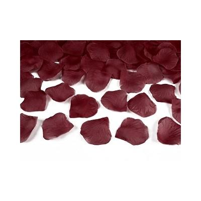 Sachet de pétales rouge pourpre