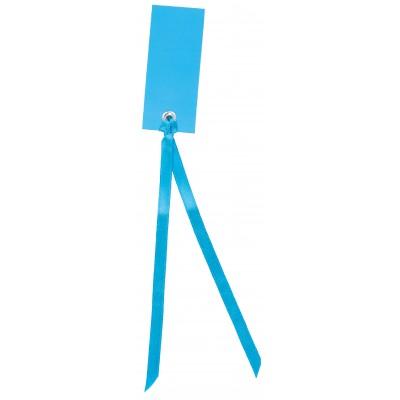 Marque place rectangulaires à nouer (12) turquoise