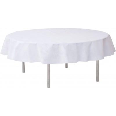Nappe ronde qualité supérieure blanche