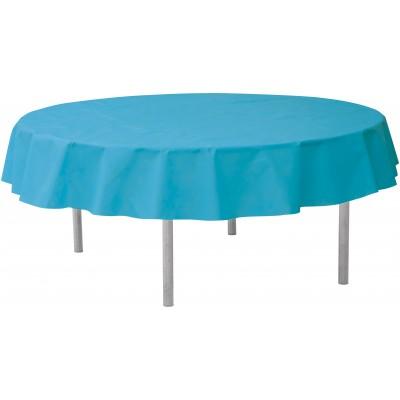 Nappe ronde qualité supérieure turquoise