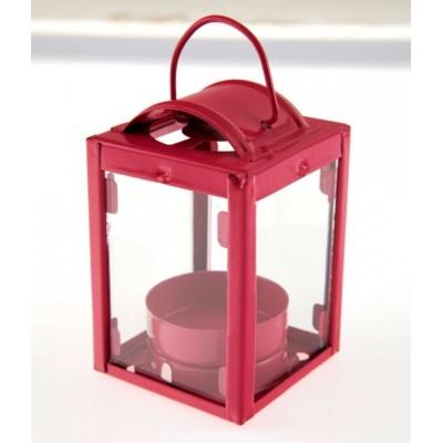 Petite lanterne fuchsia