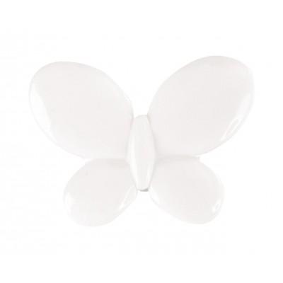 Papillons à parsemer (x12) blanc