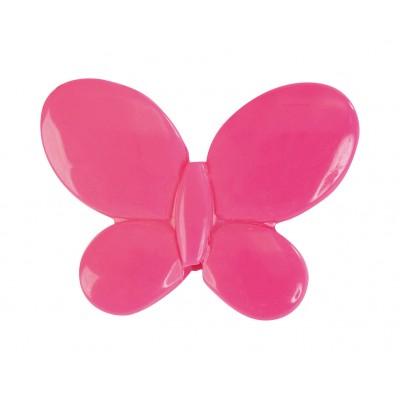 Papillons à parsemer (x12) fuchsia