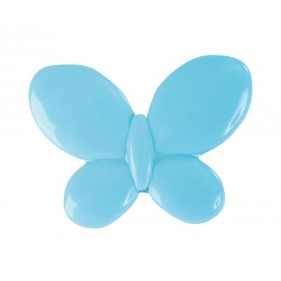 Papillons à parsemer (x12) turquoise
