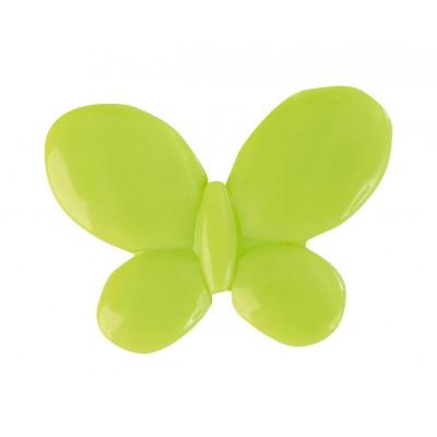 Papillons à parsemer (x12) vert anis