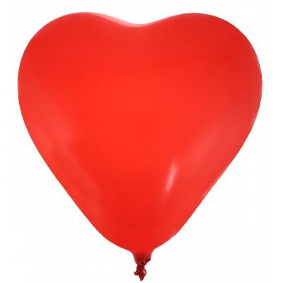 Ballons en forme de coeur (x8) rouge