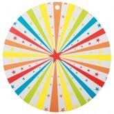 Etiquettes  pour Marque-place cirque (x10) rond