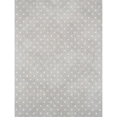 Chemin de table gris blanc plumetis en intissé