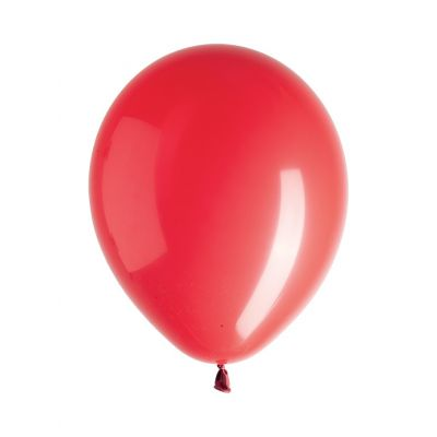 Ballons mats rouges (x100)