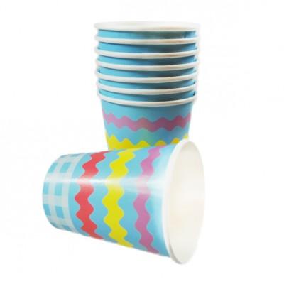 Gobelets pastels (x8)