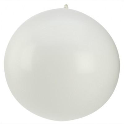 Ballon géant couleur blanche (x1)