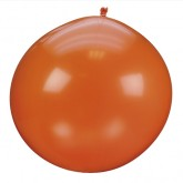 Ballon géant couleur orange (x1)