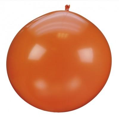 Ballon géant couleur orange (x1)