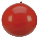Ballon géant couleur rouge (x1)