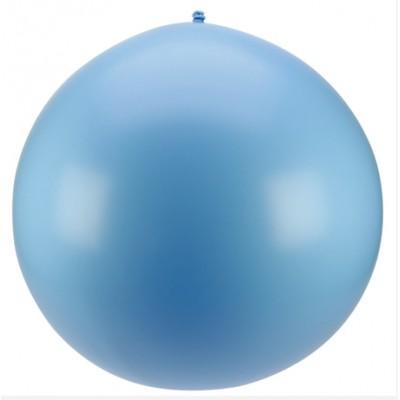 Ballon géant couleur bleu ciel (x1)