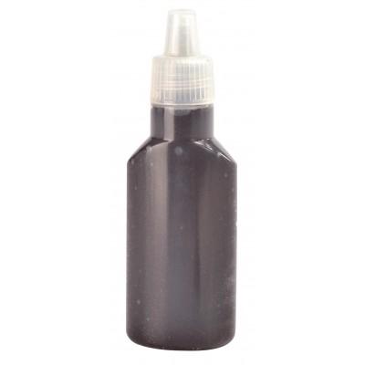 Tube gel pailleté noir