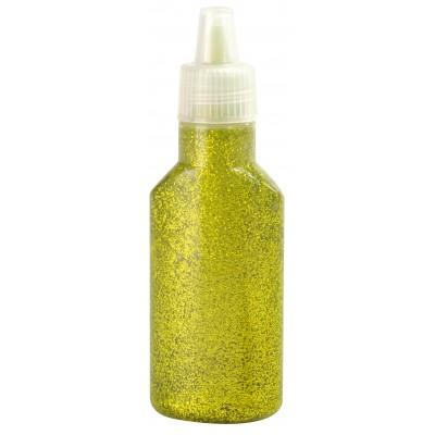 Tube gel pailleté vert