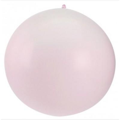 Ballon géant couleur rose (x1)