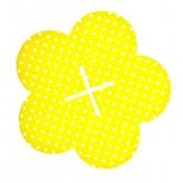 Porte cupcake jaune à pois
