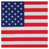Serviettes drapeau USA (x20)