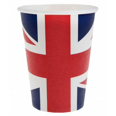 Gobelets drapeau Angleterre (x10)