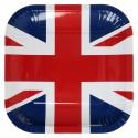 Assiettes drapeau Angleterre (x10)