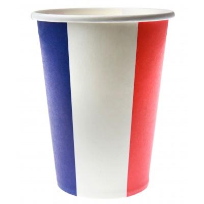 Gobelets drapeau Français (x10)