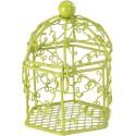 Cages à oiseaux vert anis (x2)