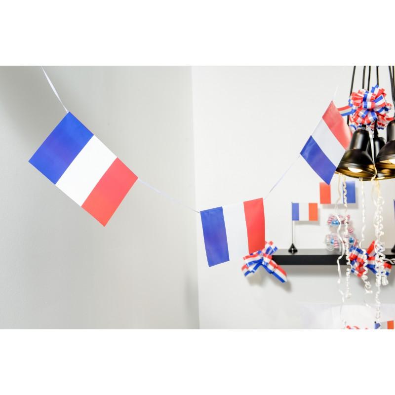 banderole drapeaux bleu blanc rouge. Black Bedroom Furniture Sets. Home Design Ideas