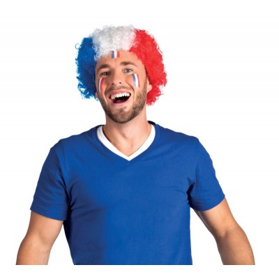 perruque supporter france