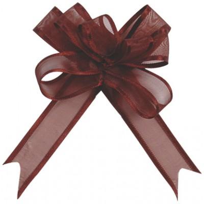 Mini noeuds chocolat (x5)