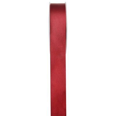 Ruban de satin bordeaux