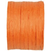 Raphia papier orange