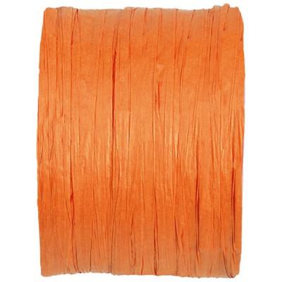 Raphia papier orange
