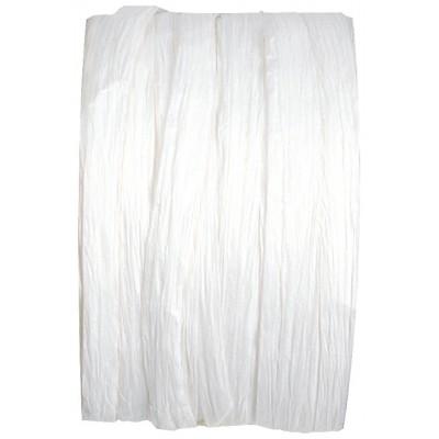 Raphia en papier blanc