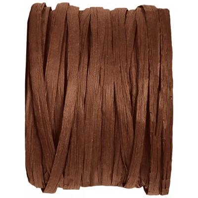 Raphia papier chocolat