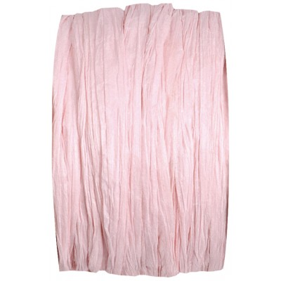 Raphia papier rose