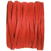 Raphia papier rouge