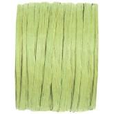 Raphia papier vert anis