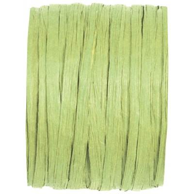 Raphia papier vert amande
